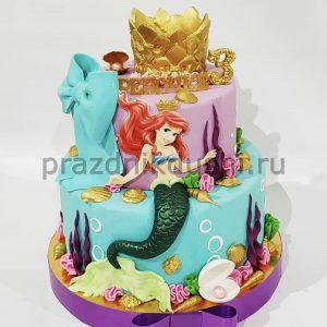 Торт для ребёнка — Русалочка