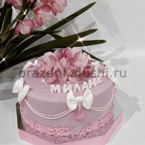 Торт для девочки — Цветок