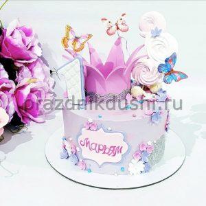Торт для девочки — Маленькая принцесса