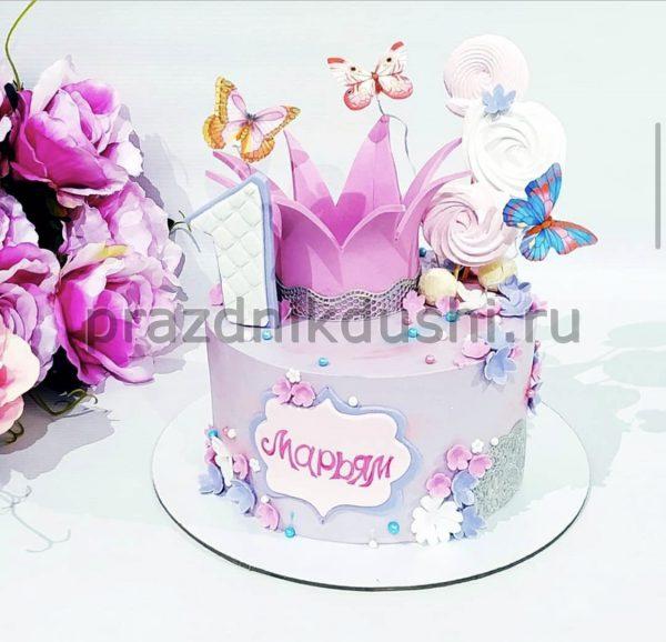 Торт для маленькой принцессы