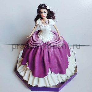 Торт для девочки — Кукла