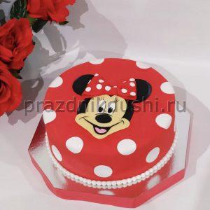 Торт для детей — Малышка Минни