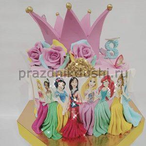 Торт на день рождения ребёнка — Принцесса