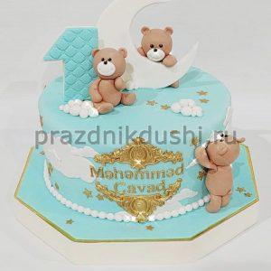 Торт на день рождения ребёнка — Медвежата