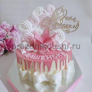 Торт на день рождения ребёнка — для девочки