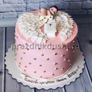 Торт для детского праздника на Крещение