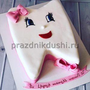 Торт для детского праздника Первый зуб