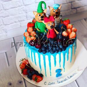 Торт для детского праздника Мышата