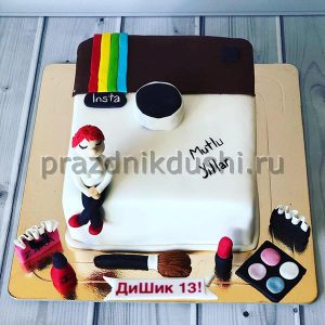 Торт для детского праздника Инстаграм