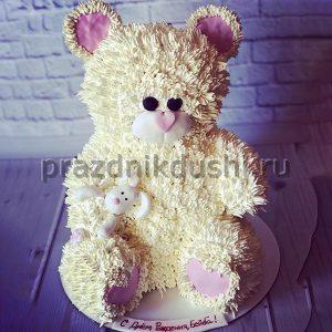 Торт для детского праздника Плюшевый медведь