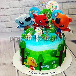 Торт для детского праздника Лесной