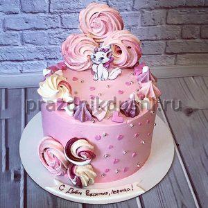 Торт для детского праздника Котёнок