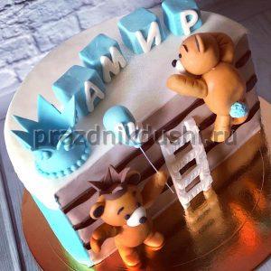 Торт для детского праздника Медвежата