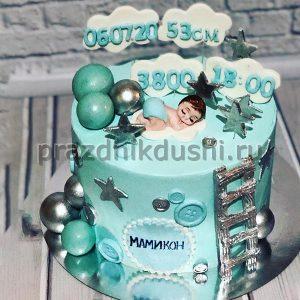 Торт для детского праздника — на рождение