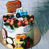 Торт мальчику на день рожденияя