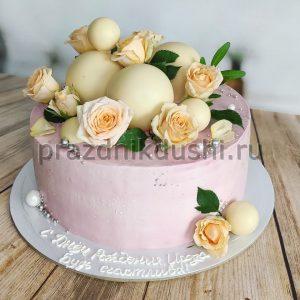 Торт для подростка — Розы