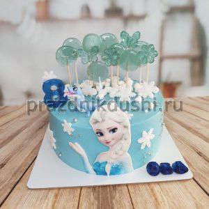Торт для подростка — Снежная принцесса
