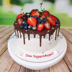 Торт для подростка — ягодный