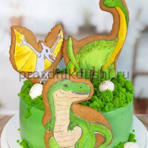 Торт для подростка — Динозавры