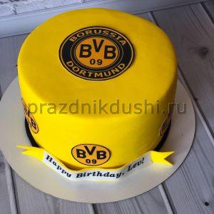 Торт на День рождения футболисту