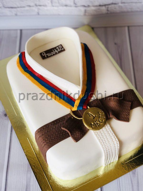 Торт-кимоно победителю