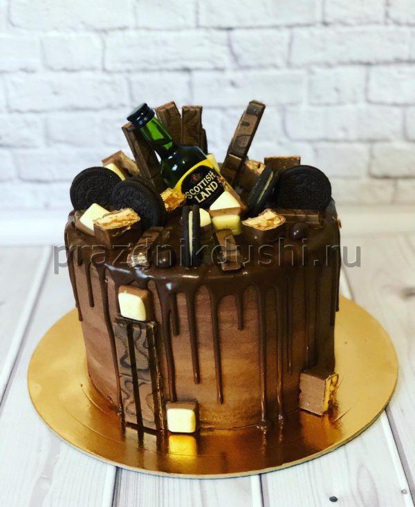Торт Виски с шоколадом