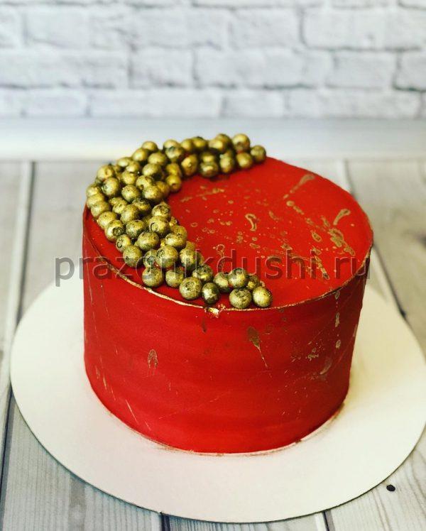 Торт Золотая черника