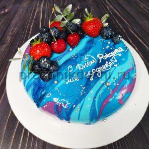 Торт муссовый на день рождения