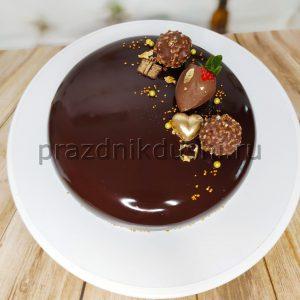Торт муссовый шоколадный