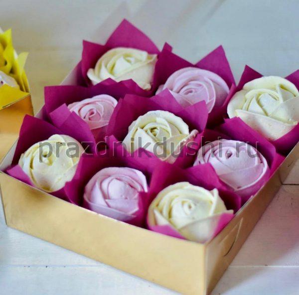 Зефир - цветы разноцветные