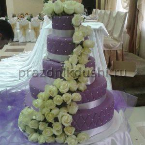 Торт свадебный 4-х ярусный