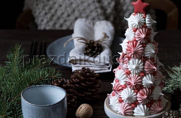 Пирожное Безе ёлочка