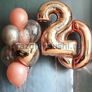 Композиция из шаров № 34