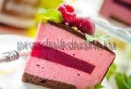 Торт Муссовый Малиновый